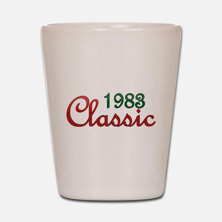 Cute Vintage 1983 Shot Glass