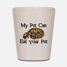 My Pet Can Eat Your Pet Shot Glass