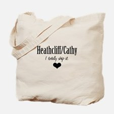 Heathcliff and Cathy Tote Bag