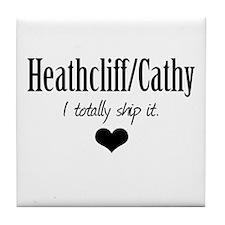 Heathcliff and Cathy Tile Coaster