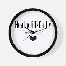 Heathcliff and Cathy Wall Clock