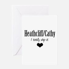 Heathcliff and Cathy Greeting Card