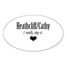 Heathcliff and Cathy Decal