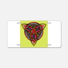 Celtic Trinity Knot Aluminum License Plate