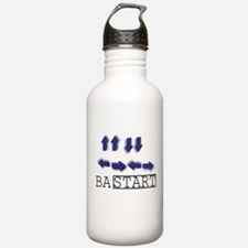Up Up Down Down! Water Bottle