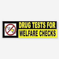 TEST BEFORE PAYMENT Bumper Bumper Sticker