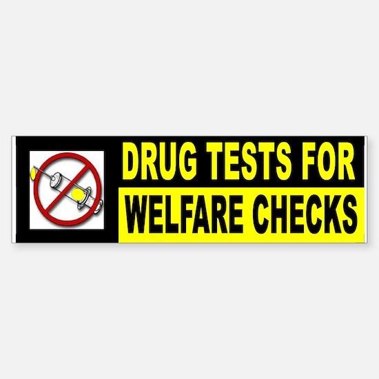 TEST BEFORE PAYMENT Sticker (Bumper)