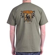 Homeland Security T-Shirt-Back Print