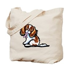 CKCS Pink Ribbon Tote Bag