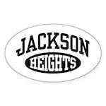 Jackson Heights Sticker (Oval)