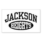 Jackson Heights Sticker (Rectangle)