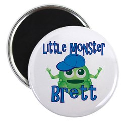 Little Monster Brett Magnet