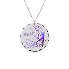 Ballet - scroll Necklace