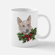 Red Heeler Christmas Mug