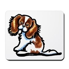 Cute Blenheim CKCS Mousepad