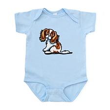 Cute Blenheim CKCS Infant Bodysuit