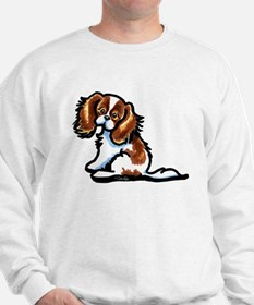 Cute Blenheim CKCS Sweatshirt