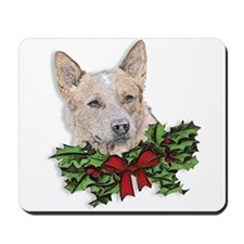 Red Heeler Christmas Mousepad