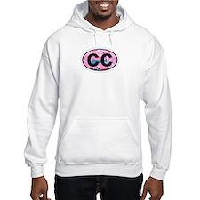 Cape Cod MA - Oval Design Hoodie