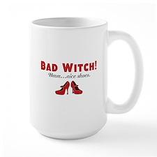Bad Witch Shoes Mug