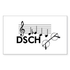 Shostakovich: DSCH Decal