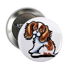 """Cute Blenheim CKCS 2.25"""" Button (10 pack)"""