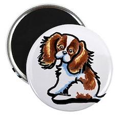 Cute Blenheim CKCS Magnet