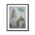 California Tower by Riccoboni Framed Panel Print