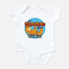 Garfield Show Logo Infant Bodysuit