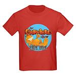 Garfield Show Logo Kids Dark T-Shirt
