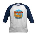 Garfield Show Logo Kids Baseball Jersey