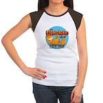 Garfield Show Logo Women's Cap Sleeve T-Shirt