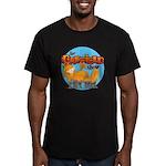 Garfield Show Logo Men's Fitted T-Shirt (dark)