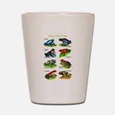 Poison Dart Frogs Shot Glass