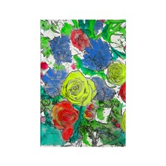 Bunch o'flowers Rectangle Magnet (10 pack)