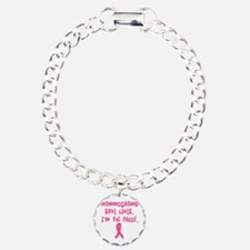 Mammograms Save Lives Bracelet