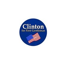 Clinton for First Gentleman Mini Button (100 pack)