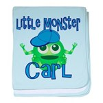 Little Monster Carl baby blanket