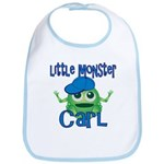 Little Monster Carl Bib