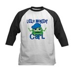 Little Monster Carl Kids Baseball Jersey