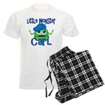 Little Monster Carl Men's Light Pajamas