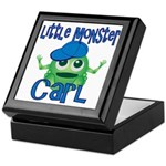 Little Monster Carl Keepsake Box