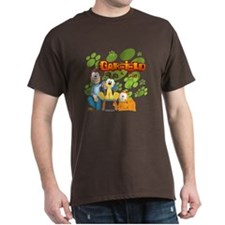Garfield & Cie Logo Dark T-Shirt