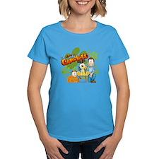 El Show de Garfield Logo Women's Dark T-Shirt