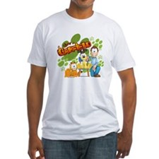 El Show de Garfield Logo Fitted T-Shirt