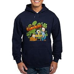 El Show de Garfield Logo Hoodie