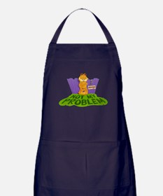 "Garfield ""Not My Problem"" Apron (dark)"