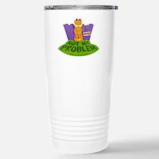 "Garfield ""Not My Problem"" Travel Mug"