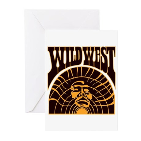 The Real Wild West Greeting Cards (Pk of 20)