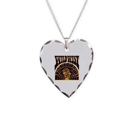 The Real Wild West Necklace Heart Charm
